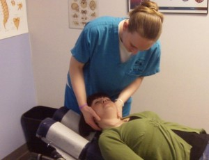 Lakeside Chiropractic Neck manipulation